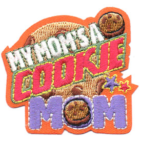 S-4539 My Mom's A Cookie Mom Patch