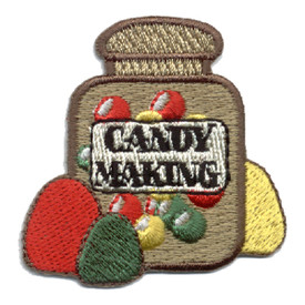 S-0376 Candy Making Patch