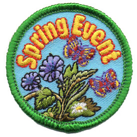 S-4540 Spring Event Patch