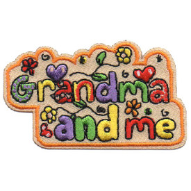 S-4541 Grandma And Me Patch