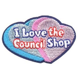 S-4545 I Love The Council Shop Patch