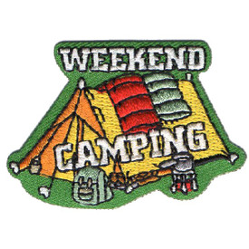 S-4546 Weekend Camping Patch
