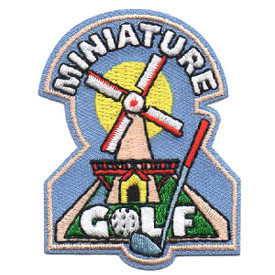 S-4550 Miniature Golf Patch