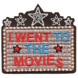 S-4551 I Went To The Movies Patch