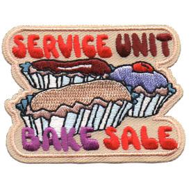 S-4556 Service Unit Bake Sale Patch