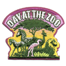 S-4557 Day At The Zoo Patch
