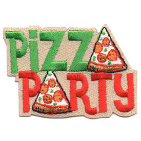 S-4572 Pizza Party Patch