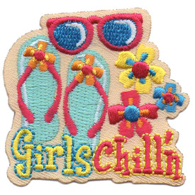 S-4584 Girls Chill'n Patch