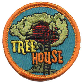 S-4585 Tree House Patch