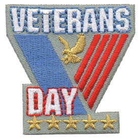 S-4587 Veterans Day Patch
