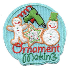 S-4590 Ornament Making Patch