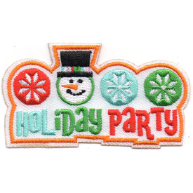 S-4597 Holiday Party Patch