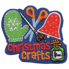 S-4598 Christmas Crafts Patch