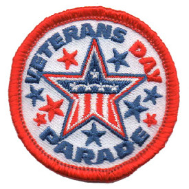 S-4599 Veterans Parade Patch