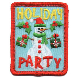 S-4601 Holiday Party Patch