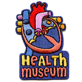 S-4604 Health Museum Patch