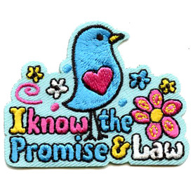 S-4606 I Know the Promise & Law Patch