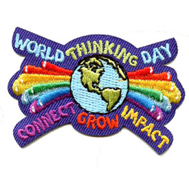 S-4608 World Thinking Day Patch