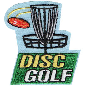 S-4623 Disc Golf Patch