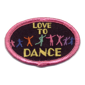 S-0391 Love To Dance Patch
