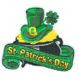 S-4627 St. Patrick's Day Patch