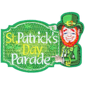 S-4631 St. Patrick's Day Parade Patch