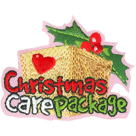 S-4637 Christmas Care Package Patch