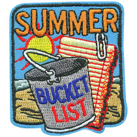 S-4639 Summer Bucket List Patch