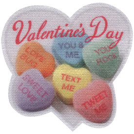 S-4643 Valentine's Day (candy) Patch