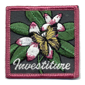 S-0393 Investiture - Butterfly Patch