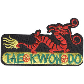S-4650 Tae Kwon Do Patch