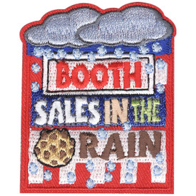 S-4652 Booth Sales in the Rain Patch