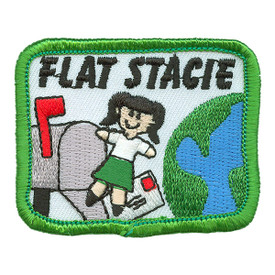 S-0397 Flat Stacie Patch