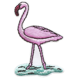S-4671 Flamingo Patch