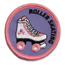 S-0401 Roller Skating Patch