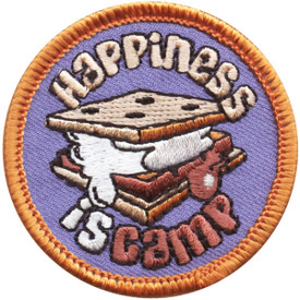 S-4707 Happiness Is Camp Patch