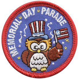 S-4709 Memorial Day Parade Patch