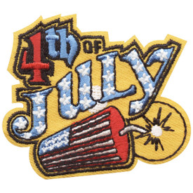 S-4710 4th of July Patch