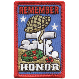 S-4718 Remember Honor Patch