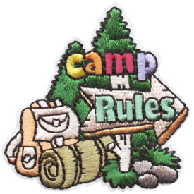 S-4731 Camp Rules Patch