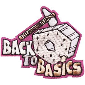 S-4736 Back To Basics Patch