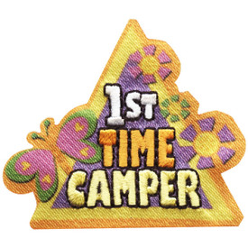S-4737 1st Time Camper Patch