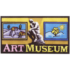 S-4738 Art Museum Patch
