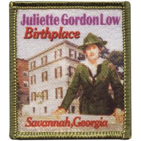 S-4744 Juliette Low Birthplace Patch