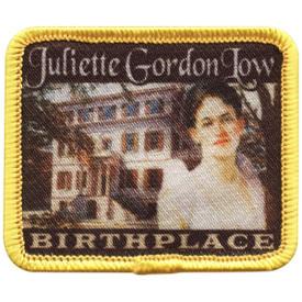 S-4747 Juliette Low Birthplace Patch