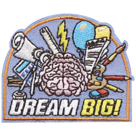S-4754 Dream Big! Patch