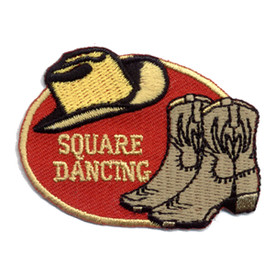 S-0411 Square Dance Patch