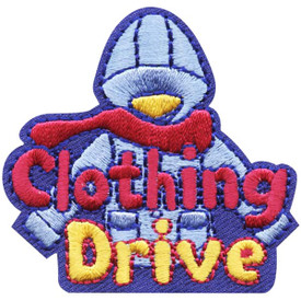 S-4767 Clothing Drive Patch