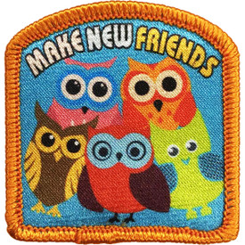 S-4768 Make New Friends Patch