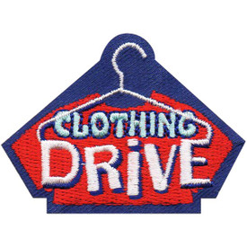 S-4774 Clothing Drive Patch